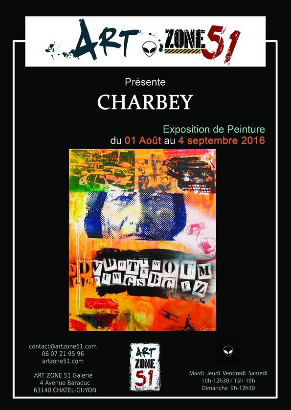 affiche A4 CHARBEY 72